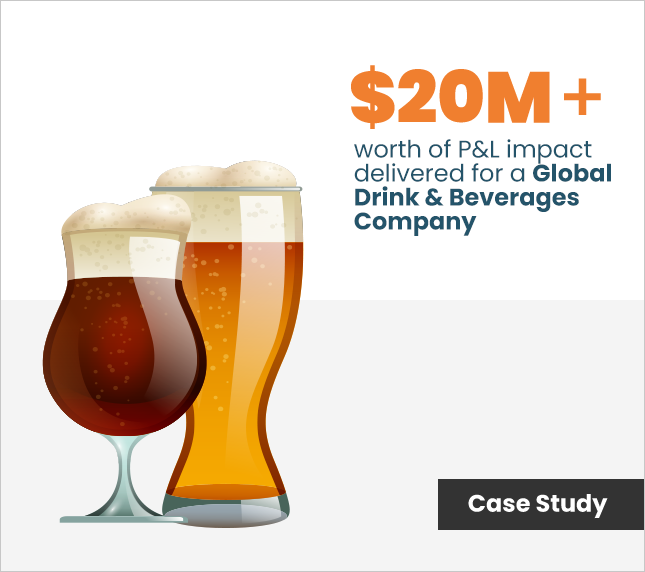 Discover Dollar case study on Drink & brewery industries